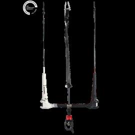 Cabrinha Overdrive 1x with recoil kitebar 2018 Fireball