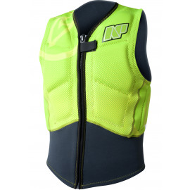 NP Impact Front Zip Vest 2017 - Green Yellow